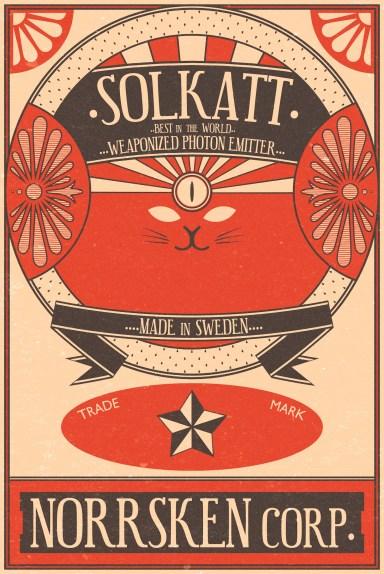 Solkatt – Photon Emitter Label – Sci-fi gun – Wip – 2015