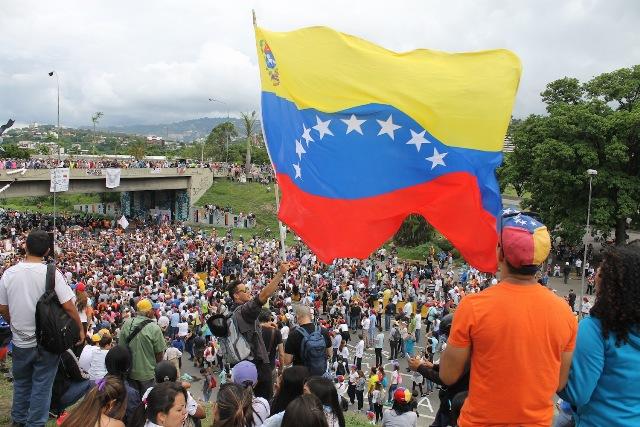 ¡Por nuestra amada Venezuela!