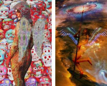 Art works: Angel of Death and D'Arkangel - Artist: Henrique Vieira Filho