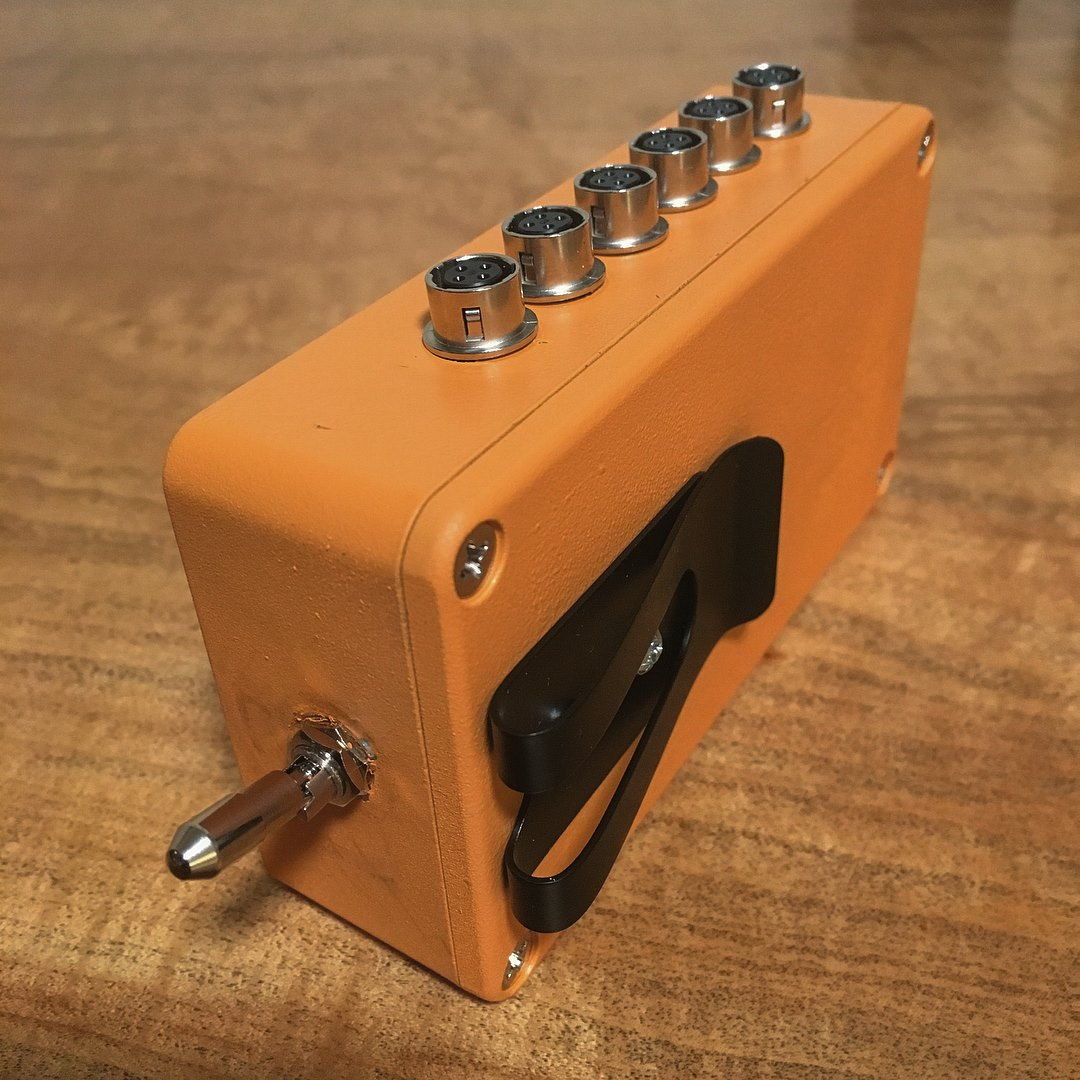 Hirose Power Distribution locking toggle switch