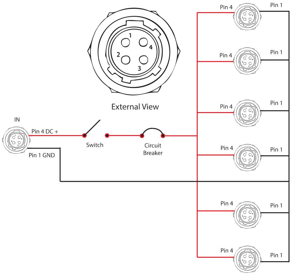trailer wiring diagram 7 pin round uk chrysler town and country parts 4 power connector | library