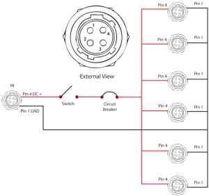 Hirose 4 Pin Wiring Diagram  wiring data