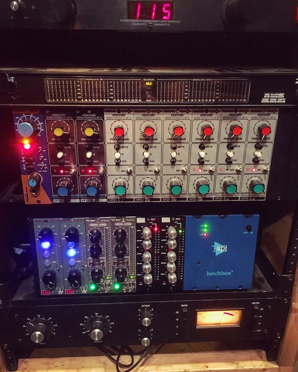 Outboard Recording Gear Mic Preamps Compressors 1176 API Hairball Audio Motu