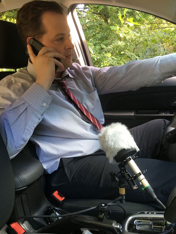 Field Recording In Vehicle Dialog Recording for Narative Film