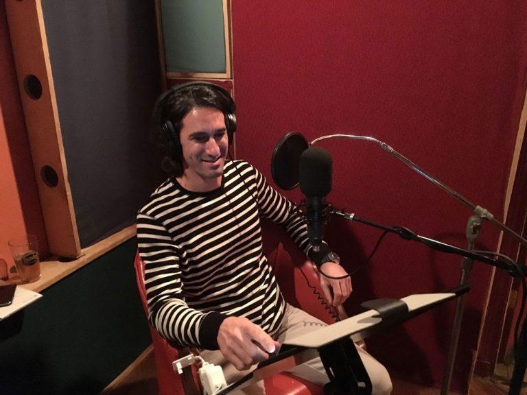 Audio Book Recording Studio working for Penguin Publishing