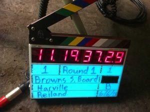 Browns Scoreboard Videos Timecode Slate