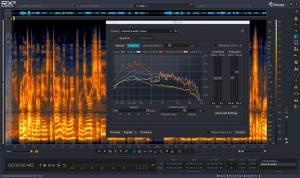 Noise Reduction Audio Post-Production Mixing