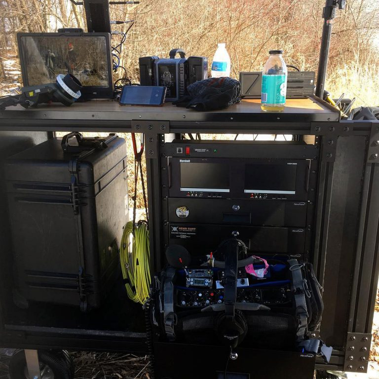 Off Road Production Sound Cart