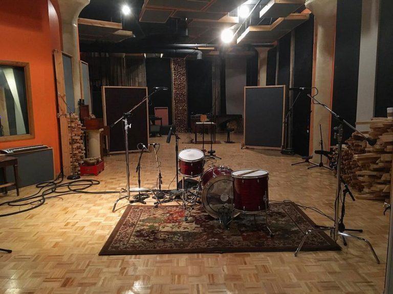 Ohio Recording Studio Live Room