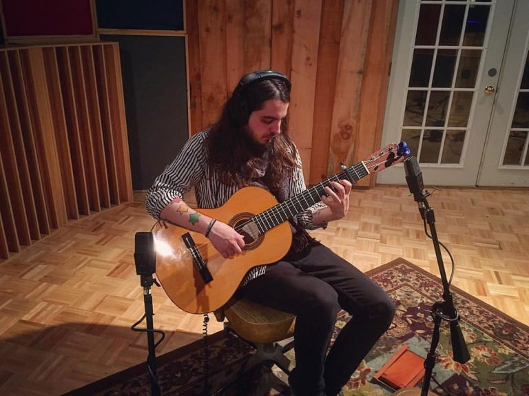 Recording Classical Guitar with AKG C414EB