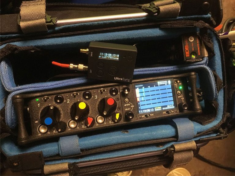 Sound Devices 633 and Timecode Systems Ultrasync One