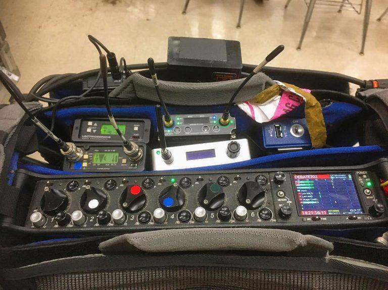 Sound Devices 664 Wisycom-& Lectrosonics Wireless