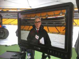 Pittsburgh Sound Mixer for Video Production on shoot for ESPN covering Pittsburgh Steelers