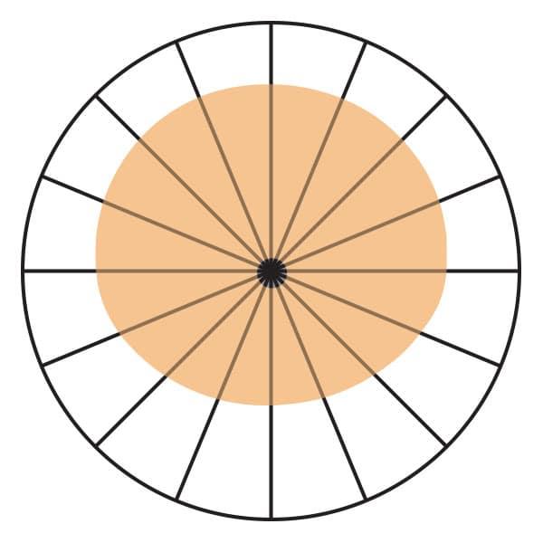Wide Cardioid Polar Pickup Pattern