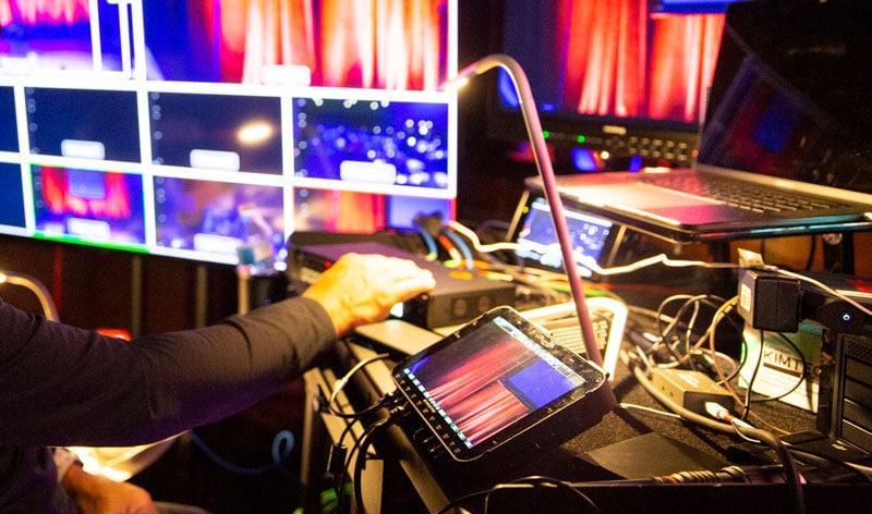 Multi Camera Sync for Comedy Specials
