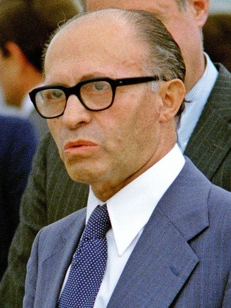 Menachem Begin in 1978. Source: Wikipedia Commons