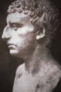 Roman bust believed to be a likeness of Flavius Josephus. Looks Jewish to me.