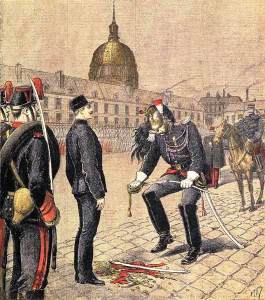 The Degradation of Alfred Dreyfus by Henri Meyer. Source: Wikimedia Commons.