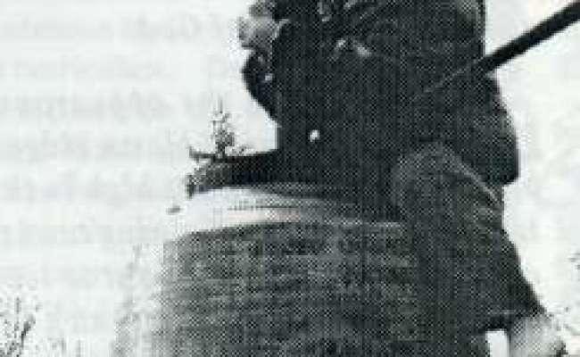 Bell Tower At New Vrindaban