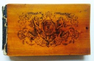 Souvenirs de Fontainebleau. Lithographie Charles Walter