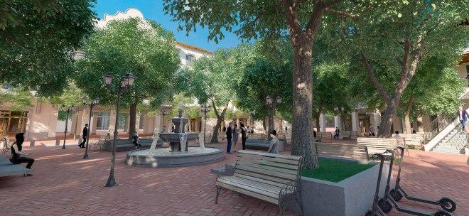 Plaza Fundadores en Porta Norte