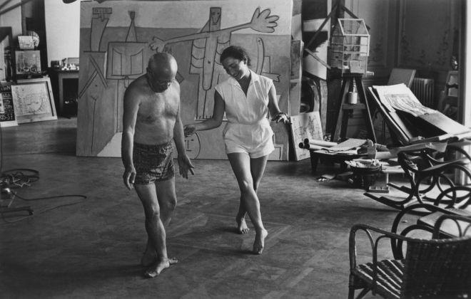 Taller de Picasso Bailando con Jaqueline