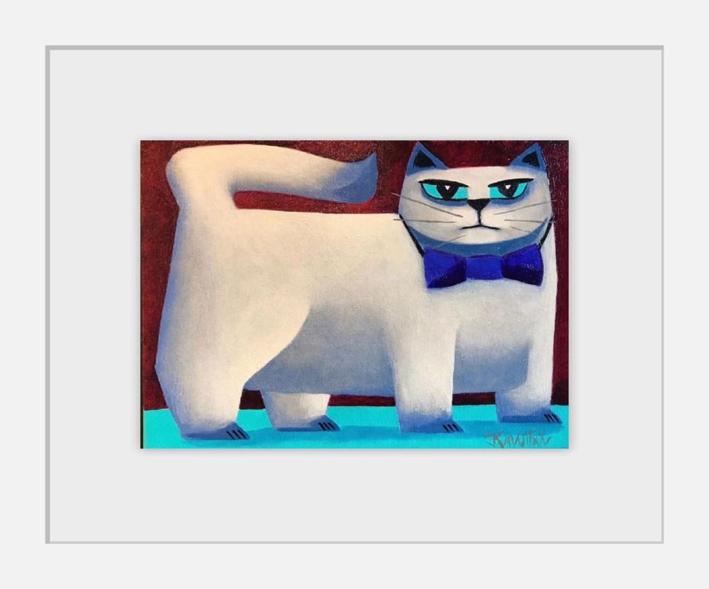 Cool Cat Framed