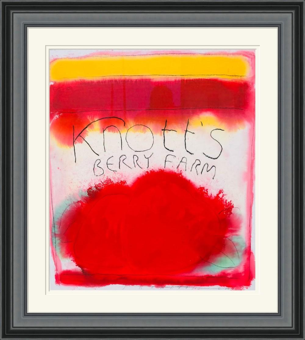 Knott's Berry Farm Framed