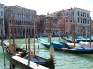 Gondolas, Grand Canal, Venice © Henry Hyde
