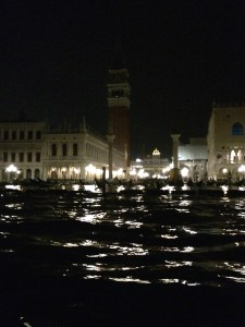 The magic of `venice by night