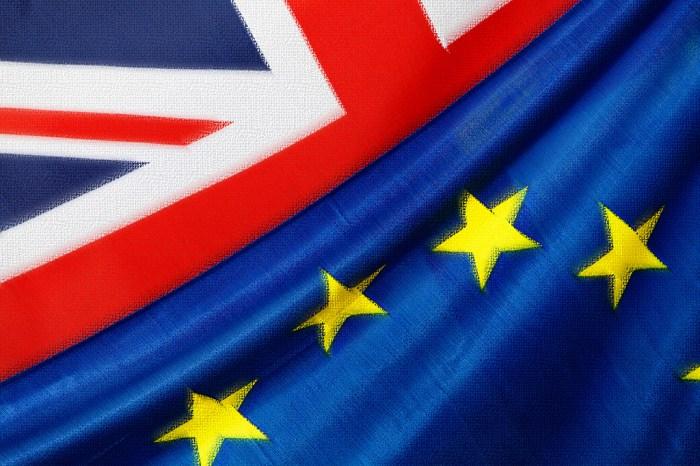 Union Jack with EU flag