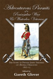 Adventurous Pursuits of a Peninsular War & Waterloo Veteran front cover