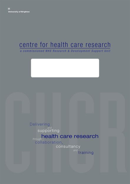 Brighton University Centre for Health Care Research