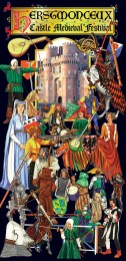 Leaflet for Herstmonceux Medieval Festival