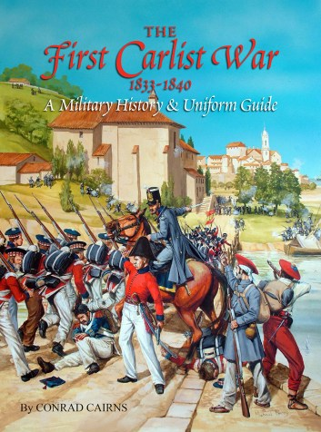The First Carlist War 1833-1840 by Conrad Cairns front cover