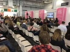 Scene at Author HQ, London Book Fair 2017