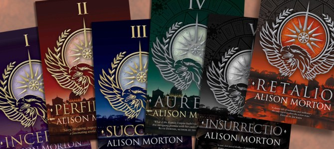 Author Insights: Six of the Best with Alison Morton