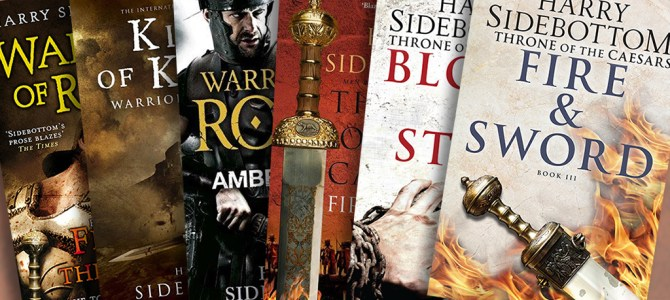 Author Insights: Six of the best with Harry Sidebottom