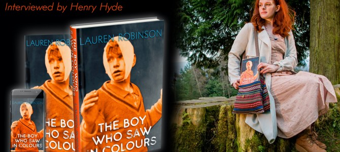 Author Insights: Lauren Robinson, Author of The Boy Who Saw In Colours