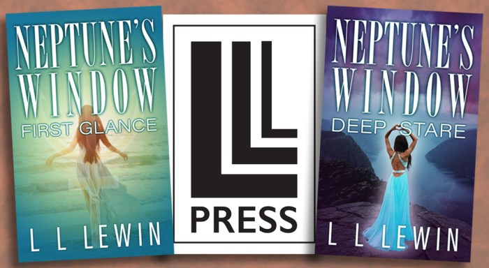 LL Lewin covers and LLL Press logo