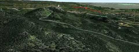 Heading Up To Starr Peak Tomorrow – 10470 Feet