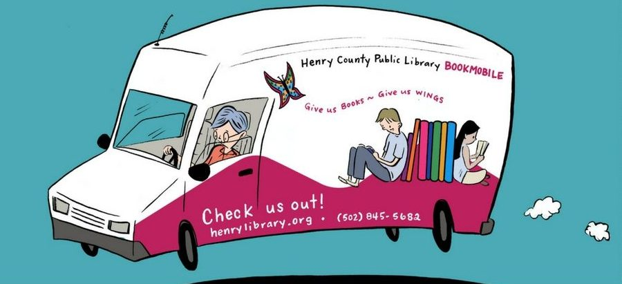 Bookmobile Spring Schedule