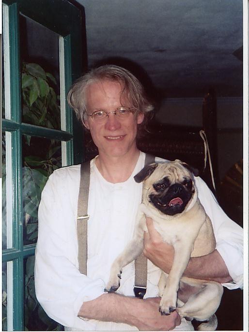 Image_Julian_Lee_With_Pug_Ojai_California_Green_Doors_Oriental_Ladies_8-1-2005.jpg