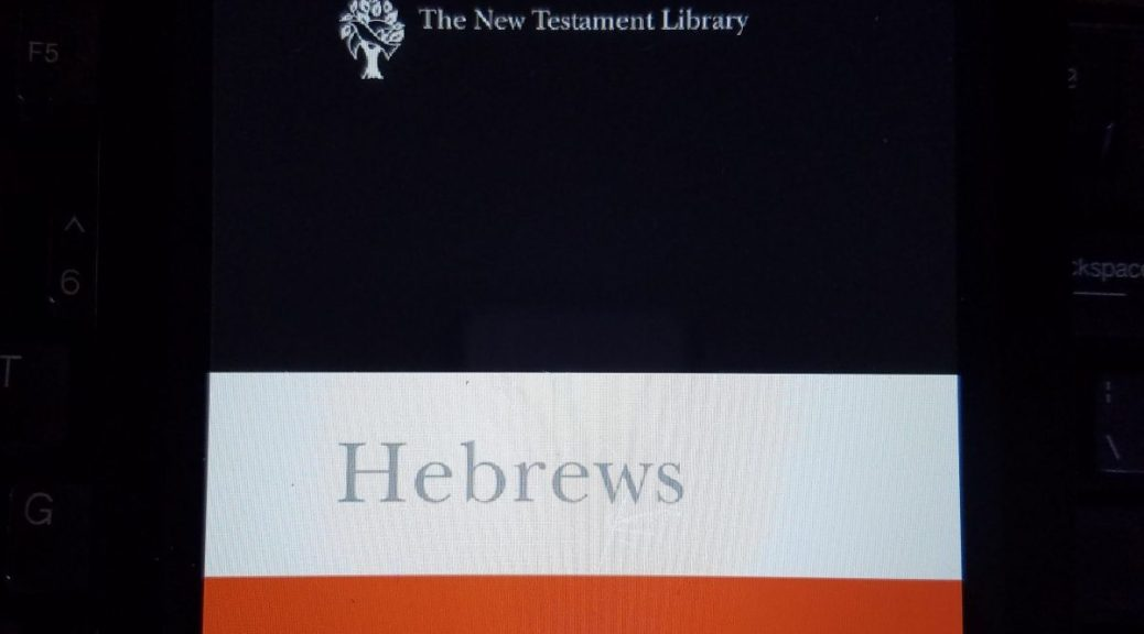 Hebrews: A Commentary