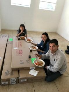 primera comida