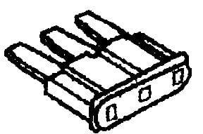 Fuse Micro-3 Mini Blade 5 AMP