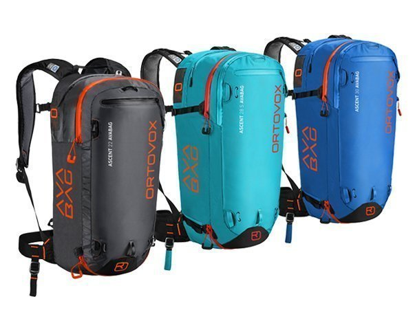 Ultra-light ORTOVOX ASCENT backpack. Great for ski touring
