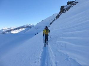 Ski touring wayne watson
