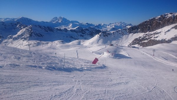 Pissaillas Glacier Val d'Isere 5th November