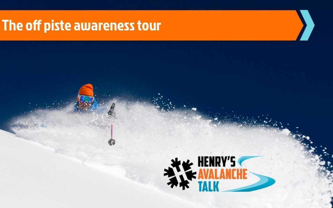 The Ortovox Off-piste Awareness Tour is back